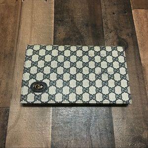 Vintage Gucci GG Monogram Wallet Clutch Purse